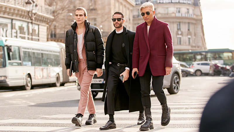 10 Top Fashion Trends from Men's Fashion Week A/W 20