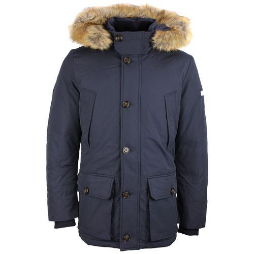 Tommy Hilfiger Men's Winter Jacket Parka Navy Blue MW0MW08249 403 .