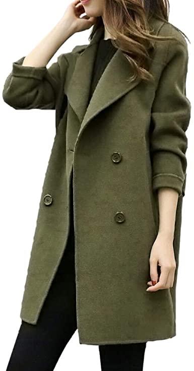 NREALY Women's Jacket Fall Winter Jacket Casual Outwear Parka .