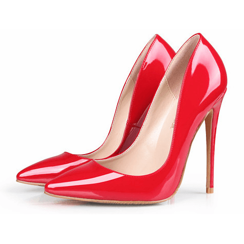 Woman High Heels Trendy Party Wedding Red Shoes Fashion Stilettos .