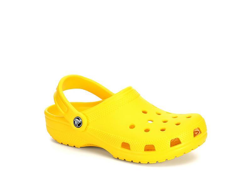 Yellow Crocs Womens Classic Clog | Casual | Rack Room Sho
