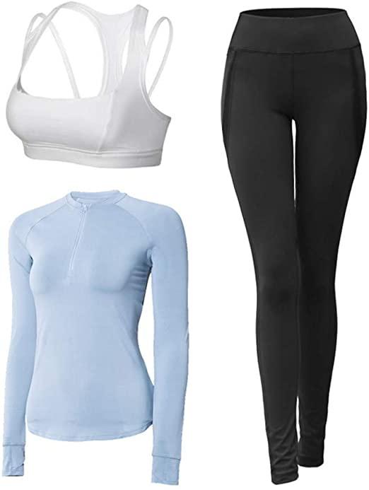 Amazon.com: Limaomao Yoga Clothes for Women Set Women's Sports .